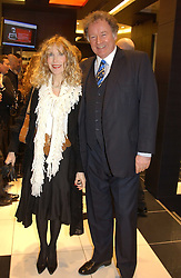 """RICHARD & BASIA BRIGGS at a party to celebrate the opening of the new Mont Blanc store at 151 Sloane Street, London on 9th March 2005.  The evening was held in conjunction with UNICEF's """"Sign up for the right to write"""" campaign which is raising money though the sale of celebraties 'statements' currently for auction on the ebay website.<br /><br />NON EXCLUSIVE - WORLD RIGHTS"""