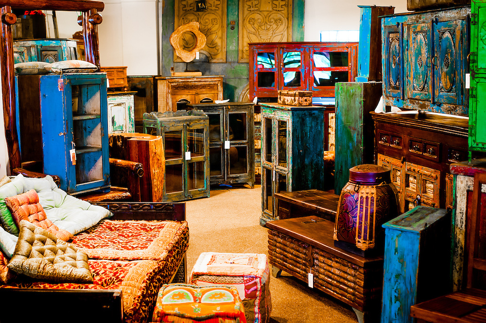 ORLANDO, FL -- Furniture and imports from all over the world including  Indonesia, - Orlando Antique And Vintage Shopping Chip Litherland