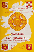 All Ireland Senior Hurling Championship Final,.Programme,.04.09.1955, 09.04.1955, 4th September 1955,.Galway 2-8, Wexford 3-13,.Minor Galway v Tipperary, .Senior Galway v Wexford,.Croke Park, 04091955AISHCF,