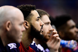 Chris Taylor of Bristol Flyers - Photo mandatory by-line: Ryan Hiscott/JMP - 26/01/2020 - BASKETBALL - Arena Birmingham - Birmingham, England - Bristol Flyers v Worcester Wolves - British Basketball League Cup Final
