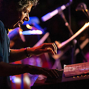 """November 3, 2012 - New York, NY : Jazz pianist Armando Anthony """"Chick"""" Corea performs at the Blue Note jazz club on Saturday night. CREDIT: Karsten Moran for The New York Times"""