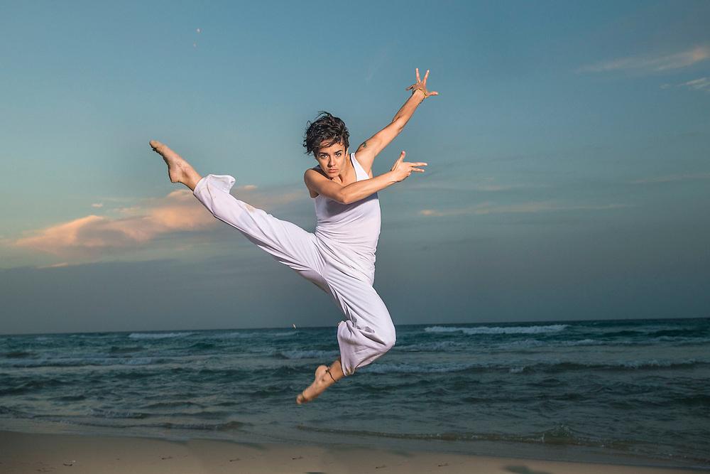 Jennifer Tejada, dancer Havana Cuba, member of Danza Contemporánea de Cuba
