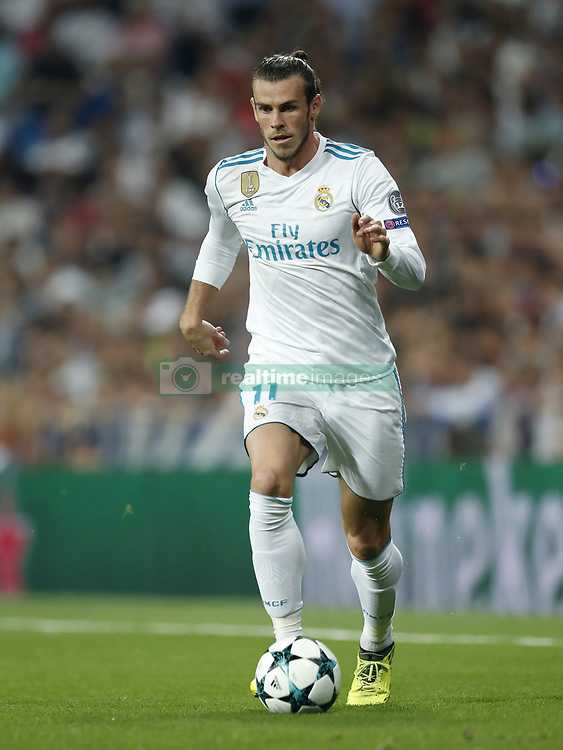 Gareth Bale of Real Madrid during the UEFA Champions League group H match between Real Madrid and APOEL FC on September 13, 2017 at the Santiago Bernabeu stadium in Madrid, Spain.