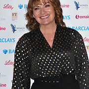 Lorraine Kelly attends Women of the Year Lunch and Awards at Intercontinental Hotel Park Lane, London, UK. 15 October 2018.