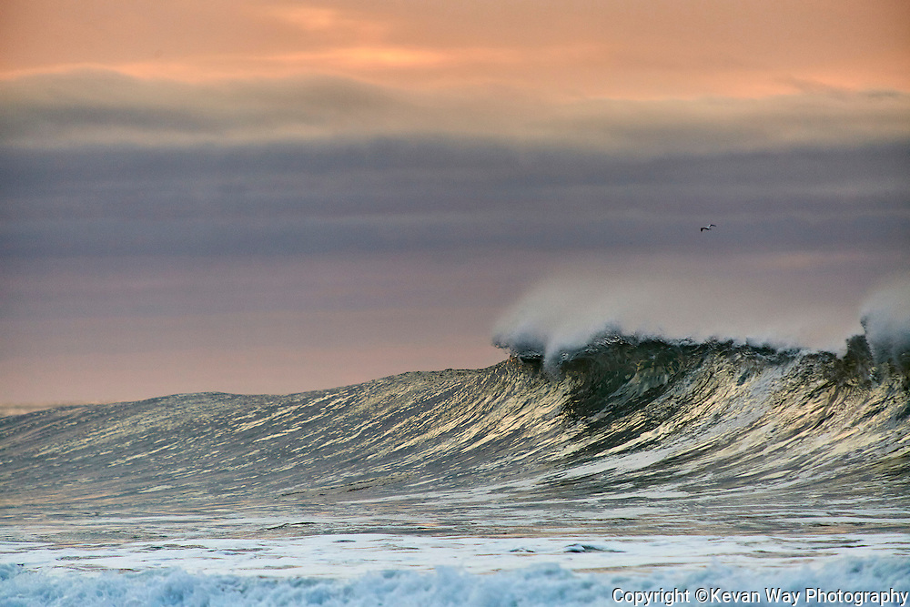 sunrise wave at Bells