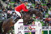 Fabio Brotto - R Gitana<br /> Alltech FEI World Equestrian Games™ 2014 - Normandy, France.<br /> © DigiShots