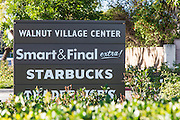 Walnut Village Center Irvine Signage