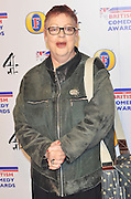 16.DECEMBER.2011. LONDON<br /> <br /> COMEDIENNE JO BRAND ARRIVING AT THE 'BRITISH COMEDY AWARDS 2011' HELD AT THE FOUNTAIN STUDIOS IN WEMBLEY, LONDON.<br /> <br /> BYLINE: EDBIMAGEARCHIVE.COM<br /> <br /> *THIS IMAGE IS STRICTLY FOR UK NEWSPAPERS AND MAGAZINES ONLY*<br /> *FOR WORLD WIDE SALES AND WEB USE PLEASE CONTACT EDBIMAGEARCHIVE - 0208 954 5968*
