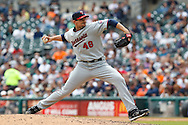 April 29, 2010:  Minnesota Twins' Carl Pavano (48) during the MLB baseball game between the Minnesota Twins vs Detroit Tigers at  Comerica Park in Detroit, Michigan. Tigers defeated the Twins 3-0.
