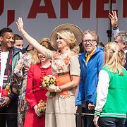 NLD/Amersfoort/20190427 - Koningsdag Amersfoort 2019, Maxima en Ingmar Felicia