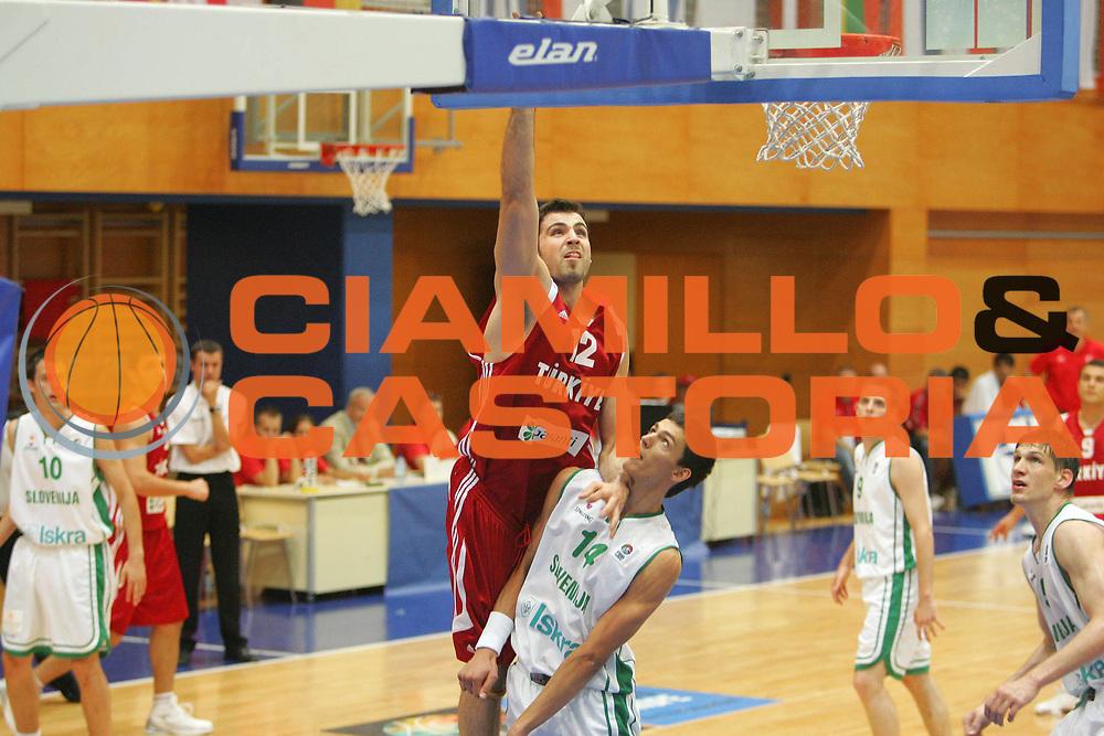 DESCRIZIONE : Gorizia Nova Gorica U20 European Championship Men Campionato Europeo<br /> GIOCATORE : Cemal Nalga<br /> SQUADRA : Turkey Turchia<br /> EVENTO : Gorizia Nova Gorica U20 European Championship Men Campionato Europeo<br /> GARA : Slovenia Turkey Turchia<br /> DATA : 11/07/2007<br /> CATEGORIA : Tiro<br /> SPORT : Pallacanestro <br /> AUTORE : Agenzia Ciamillo-Castoria/S.Silvestri
