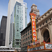 Chicago Theatre Chicago Landmark photo. The Chicago Theatre is listed with the National Register of Historic Places.