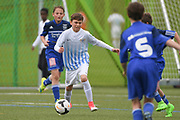 06.05.2017; Zuerich; <br /> Fussball FCZ Academy - FC Zuerich FE13 Oberland_FE13 TBOE; <br /> Ryan Coviello (Zuerich) <br /> (Andy Mueller/freshfocus)