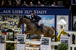 HERCK Andrea (ROU), Idarquithago<br /> Grand Prix von Volkswagen<br /> Int. jumping competition over two rounds (1.55 m) - CSI3*<br /> Comp. counts for the LONGINES Rankings<br /> Braunschweig - Classico 2020<br /> 08. März 2020<br /> © www.sportfotos-lafrentz.de/Stefan Lafrentz