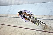 Southland's Nicholas Kergozou competes in the (MJ) sprint in the Avanti BikeNZ Classic, Avantidrome, Cambridge, New Zealand, Thursday, September 18, 2014, Credit: Dianne Manson/BikeNZ