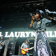 Columbia, MD - August 30th, 2010:  Lauren Hill missed her original set time but performed a short set later in the day. (Photo by Kyle Gustafson/For The Washington Post)