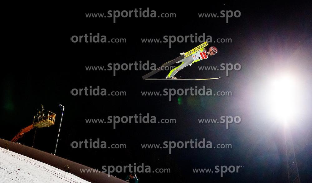 25.02.2017, Lahti, FIN, FIS Weltmeisterschaften Ski Nordisch, Lahti 2017, Herren Skisprung, Normalschanze, im Bild Stefan Kraft (AUT) // Stefan Kraft of Austria during Mens Normal Hill Skijumping Competition of FIS Nordic Ski World Championships 2017. Lahti, Finland on 2017/02/25. EXPA Pictures © 2017, PhotoCredit: EXPA/ JFK