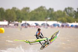 29.04.2012, Burgenland, Neusiedler See, Podersdorf, AUT, PWA, Surf Worldcup, im Bild Tilo Eberer, GER) // during surfworldcup at podersdorf, EXPA Pictures © 2012, PhotoCredit: EXPA/ M. Kuhnke