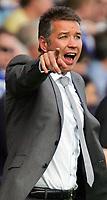 Fotball<br /> England<br /> Foto: Fotosports/Digitalsport<br /> NORWAY ONLY<br /> <br /> Peterborough Utd FC vs Sheffield Wednesday FC Championship 15/08/09<br /> <br /> Peterboro Manager Darren Ferguson makes his point.