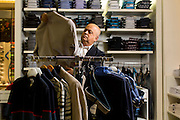 Belo Horizonte_MG, Brasil.<br /> <br /> Carlos Lima, fundador e dono da Sketch, especializada em moda masculina.<br /> <br /> Carlos Lima, founder and owner of Sketch, specializing in mens fashion.<br /> <br /> Foto: LEO DRUMOND / NITRO