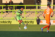 Forest Green Rovers Ethan Pinnock(16) passes the ball during the Vanarama National League match between Forest Green Rovers and Braintree Town at the New Lawn, Forest Green, United Kingdom on 21 January 2017. Photo by Shane Healey.