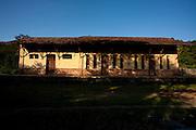 Mariana_MG, Brasil...Estacao ferroviaria Monsenhor Horta em Mariana...Monsenhor Horta  railroad station in Mariana...Foto: LEO DRUMOND / NITRO.