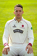 County Championship kit portrait of Paul van Meekeren during the Somerset County Cricket Club PhotoCall 2017 at the Cooper Associates County Ground, Taunton, United Kingdom on 5 April 2017. Photo by Graham Hunt.