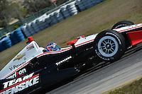 AJ Allmendinger, Sebring test, 2/19/2013