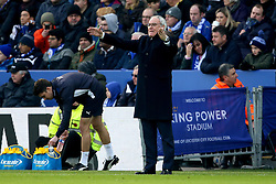 An animated Leicester City manager Claudio Ranieri - Mandatory by-line: Robbie Stephenson/JMP - 05/02/2017 - FOOTBALL - King Power Stadium - Leicester, England - Leicester City v Manchester United - Premier League