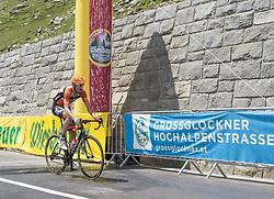 07.07.2017, St. Johann Alpendorf, AUT, Ö-Tour, Österreich Radrundfahrt 2017, 5. Etappe von Kitzbühel nach St. Johann/Alpendorf (212,5 km), im Bild Pieter Weening (NED, Roompot Nederlandse Loterij) Glocknerkönig // Pieter Weening of Nederlands (Roompot Nederlandse Loterij) Glocknerkoenig during the 5th stage from Kitzbuehel to St. Johann/Alpendorf (212,5 km) of 2017 Tour of Austria. St. Johann Alpendorf, Austria on 2017/07/07. EXPA Pictures © 2017, PhotoCredit: EXPA/ Reinhard Eisenbauer