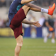 Cristiano Ronaldo, Portugal, during warm up before  the Portugal V Ireland International Friendly match in preparation for the 2014 FIFA World Cup in Brazil. MetLife Stadium, Rutherford, New Jersey, USA. 10th June 2014. Photo Tim Clayton