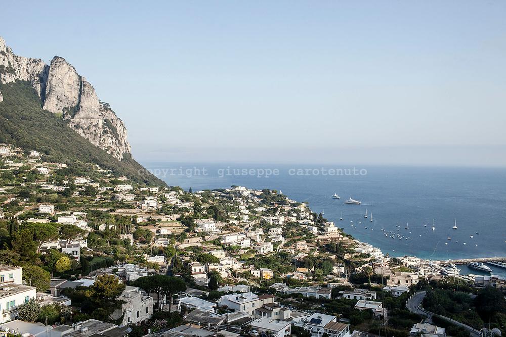 04 August 2017, Capri Italy -