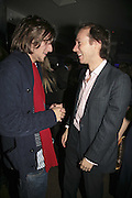Henry Hudson and Marcus Dawes, the Tatler Little Black Book party. 24 Kingly st. London. W!. 9 November 2006. ONE TIME USE ONLY - DO NOT ARCHIVE  © Copyright Photograph by Dafydd Jones 66 Stockwell Park Rd. London SW9 0DA Tel 020 7733 0108 www.dafjones.com