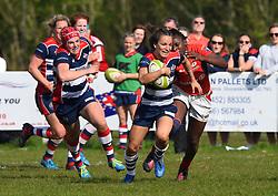 Jasmine Joyce of Bristol Ladies - Mandatory by-line: Paul Knight/JMP - 09/04/2017 - RUGBY - Cleve RFC - Bristol, England - Bristol Ladies v Saracens Women - RFU Women's Premiership Play-off Semi-Final