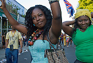Back Streets of Notting Hill at Carnival time