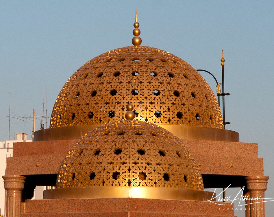 Golden cupola in Muttrah