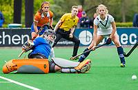 BLOEMENDAAL - Diana Beemster (Bldaal)   , Libera hoofdklasse hockey Bloemendaal-Pinoke (0-0). COPYRIGHT KOEN SUYK