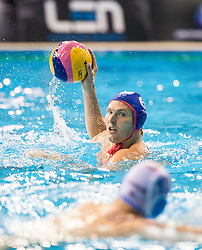 Jesse Smith of Olympiacos during water polo match between Primorje Erste Bank (CRO) and Olympiacos Piraeus (GRE) in 8th Round of Champions League 2016, on April 16, 2016 in Kantrida pool, Rijeka, Croatia. Photo by Vid Ponikvar / Sportida