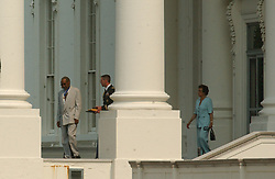 Bill Cosby admires his Presidential Medal of Freedom that he received from United States President George W. Bush during a ceremony in the East Room of the White House in Washington, D.C. on July 9, 2002..Credit: Ron Sachs / CNP. 09 Jul 2002 Pictured: Bill Cosby departs the White House after receiving the Presidential Madal of Freedom from U.S. President George W. Bush during a ceremony in the East Room of the White House in Washington, D.C. on July 9, 2002..Credit: Ron Sachs / CNP. Photo credit: Ron Sachs / CNP / MEGA TheMegaAgency.com +1 888 505 6342