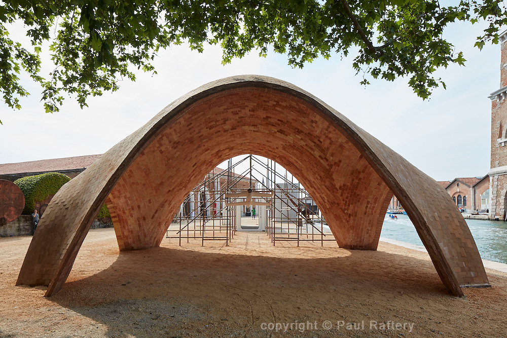 Venice Biennale, Arsenale, Proposal for drone ports, Norman Foster
