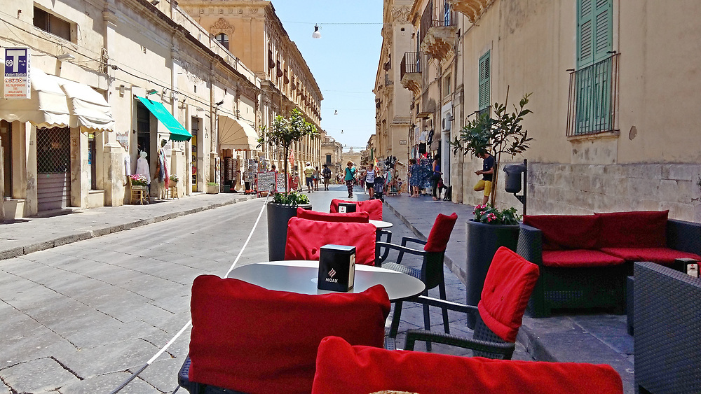 Heinz Rainer s Noto Sicily Sunday morning