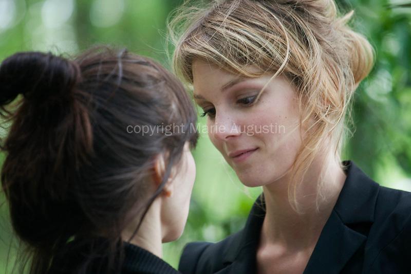 Emilie PIPONNIER, tournage scène imposée d'Emmanuelle MARRE - emergence 2011