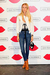 """Lulu Guinness Paint Project.<br /> Mary Charteris attends the """"Lulu Guinness paint project in collaboration with beautiful crime and their artist Joseph Steele"""" Held at the old sorting office, Oxford street,<br /> London, United Kingdom<br /> Thursday, 11th July 2013<br /> Picture by Chris  Joseph / i-Images"""