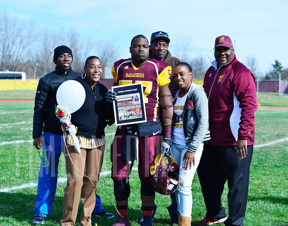 Marauders swat Hornets in 50-31 victory on Senior Day WILBERFORCE, Ohio – Saturday's game featuring the Central State Marauders and Concordia (AL) Hornets had a bit of everything including big plays, over 2,000 prospective high school students in attendance, senior recognition ceremonies