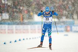 March 9, 2019 - –Stersund, Sweden - 190309 Lukas Hofer of Italy competes in the Men's 10 KM sprint during the IBU World Championships Biathlon on March 9, 2019 in Östersund..Photo: Johan Axelsson / BILDBYRÃ…N / Cop 245 (Credit Image: © Johan Axelsson/Bildbyran via ZUMA Press)