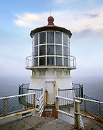 The Point Reyes lighthouse And The Endless Pacific Ocean, California