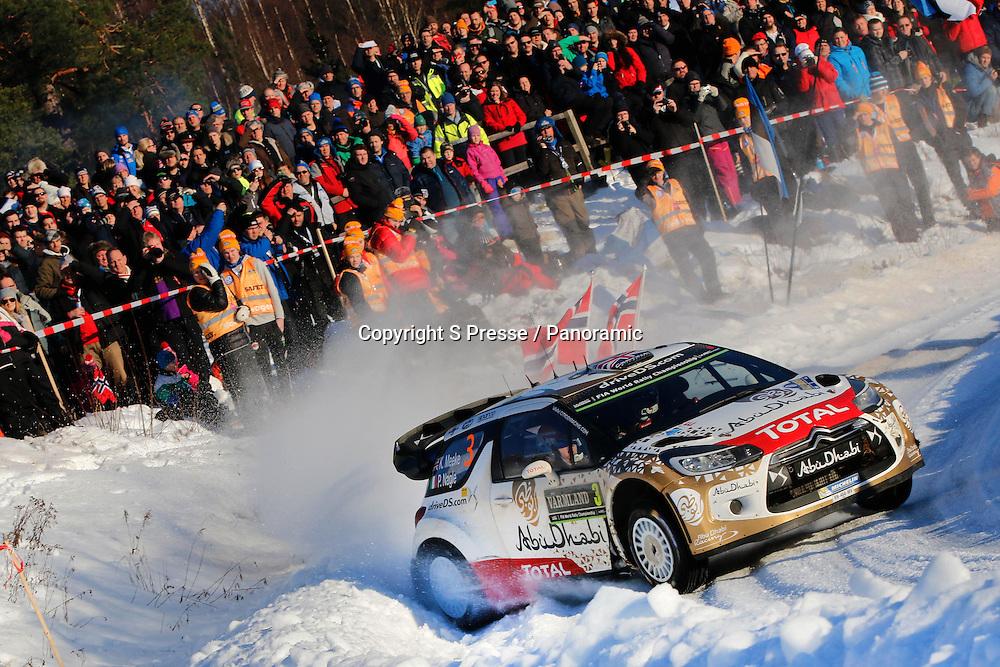 Kris Meeke (IRL) / Paul Nagle (GB) - Citroen DS3 WRC