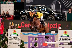 Mansur Guerios Yuri, BRA, Ibelle Ask<br /> Leipzig - Partner Pferd 2019<br /> © Hippo Foto - Stefan Lafrentz