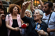 700th week of Saturday Mothers meeting prevented by police - Istanbul 25 Aug 2018