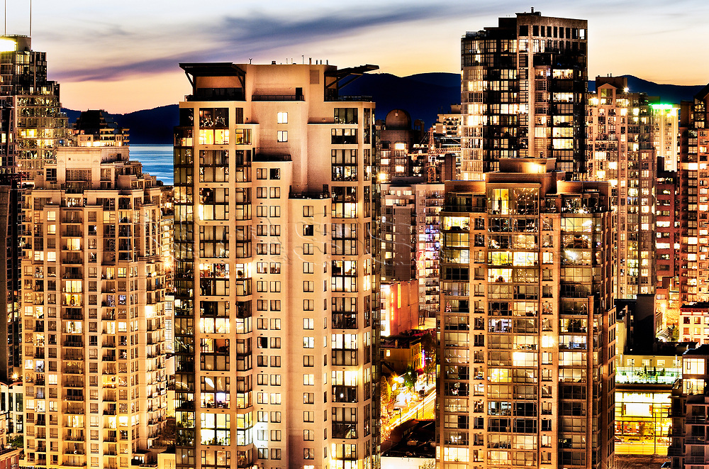 Signed and Authenticated Fine Art Limited Edition print   LUMAS Limited Editions   http://j.mp/nasser-lumas<br /> <br /> Photographer Amyn Nasser<br /> <br /> <br /> Vancouver, British Columbia, Canada, BC,  Yaletown, English Bay, downtown, Metro Vancouver, Lower Mainland, Hollywood North, 2010 Winter Olympics, 2010 Winter Paralympics, Pacific Rim,